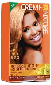 Crème of Nature Moisture Rich Hair Color C41 Honey Blonde Kit