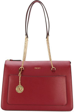 DKNY chain-strap shopper tote