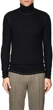 ATM Anthony Thomas Melillo Men's Rib-Knit Turtleneck Shirt