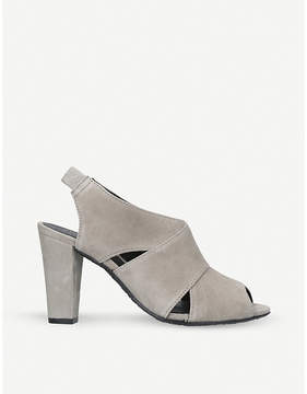 Kurt Geiger London Clarence suede courts