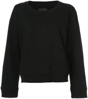 RtA distressed detail sweatshirt