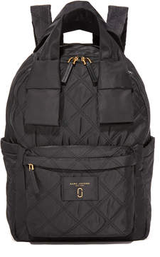 Marc Jacobs Nylon Knot Large Backpack - BLACK - STYLE