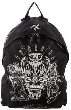 Givenchy Leather-Trimmed Printed Backpack