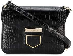 Givenchy Black Croc Nobile mini crossbody bag