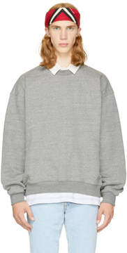 Fear Of God Grey Heavy Sweatshirt