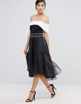 Coast Carvina Off Shoulder Dramatic Dress