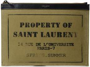 Saint Laurent Printed Wallet