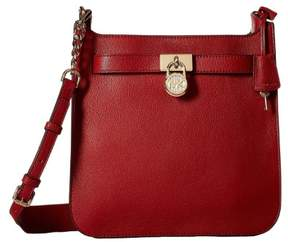 Michael Kors Hamilton Medium Leather Messenger