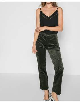 7 For All Mankind | Velvet Edie With Zipper Fly In Evergreen | L