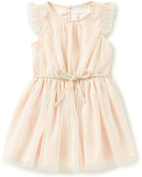 Edgehill Collection Little Girls 2T-4T Sparkle Dress