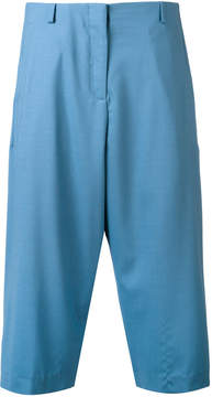 Aalto pleated cropped trousers