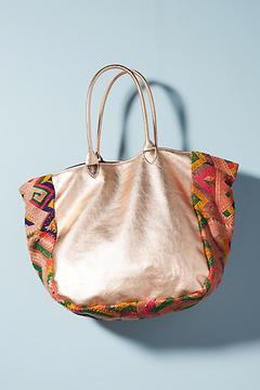 Momo Design Mixed Media Tote Bag