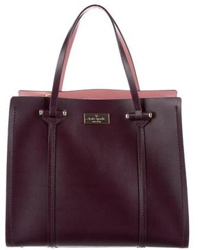 Kate Spade Arbour Hill Small Elodie Tote - PURPLE - STYLE