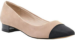 Sole Society Toe Cap Flats - Brea