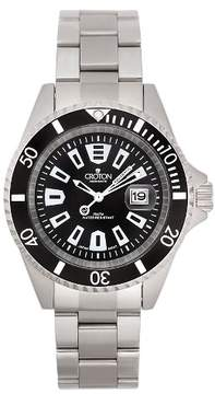 Croton Men's Stainless Steel Wristwatch - Black