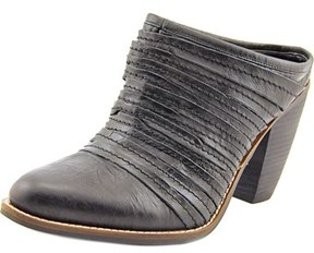 Two Lips Mara Women Pointed Toe Leather Black Bootie.