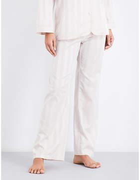 Bodas Striped cotton pyjama trousers