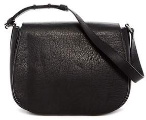 Shinola Leather Flap Shoulder Bag