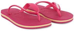 Havaianas Pink Branded Flip Flops