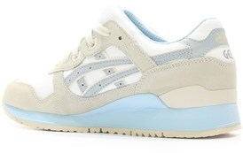 Asics Womens Gel-lyte Iii Low Top Lace Up Tennis Shoes.