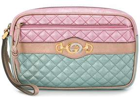 Gucci quilted clutch