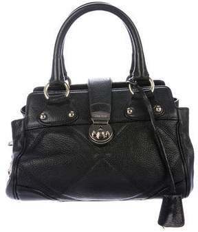 Max Mara Grained Leather Satchel