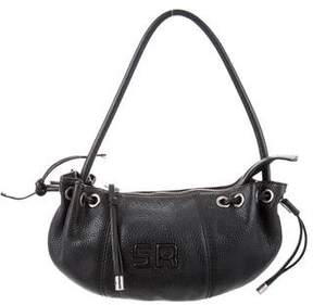 Sonia Rykiel Grained Leather Shoulder Bag