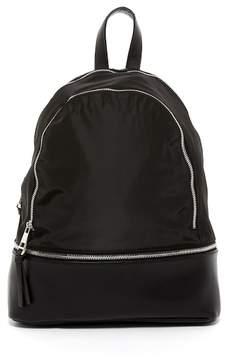 Madden-Girl Double Zip Nylon Backpack
