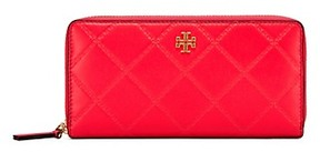 Tory Burch Georgia Zip Continental Wallet - DAHLIA PINK - STYLE