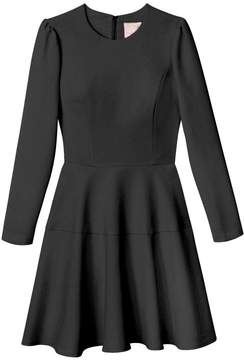 Sleeved Black Dress