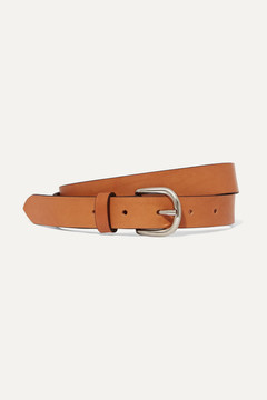 Isabel Marant Zap Leather Belt - Camel