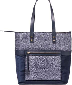 Borbonese Medium Vertical Shopping Bag