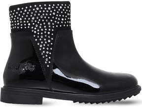 Lelli Kelly Kids Joyce patent leather boots 3-9 years