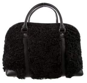 Proenza Schouler Shearling Bergen Duffel Bag