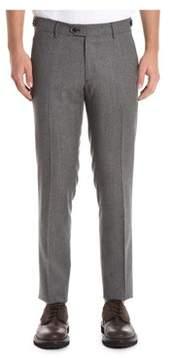 Berwich Men's Grey Wool Pants.