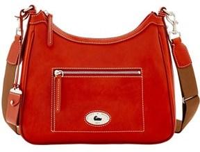 Dooney & Bourke Florentine Toscana Large Crossbody Hobo Shoulder Bag. - GINGER - STYLE