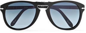 Persol Steve Mcqueen Folding D-Frame Acetate Polarised Sunglasses, Size 54