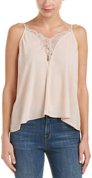 Eight Sixty Lace-Trim Blouse