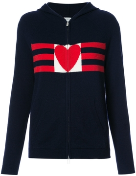Chinti and Parker Love Heart Zip Up Hoodie