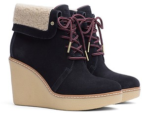 Tommy Hilfiger Shearling Lace Up Boot