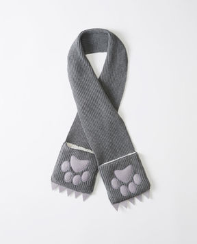 Hanna Andersson The Fox Family Scarf In Cotton & Merino