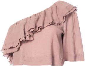 Apiece Apart one shoulder blouse