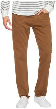 Mavi Jeans Marcus Regular Rise Slim Straight Leg in Toffee Washed Comfort Men's Jeans