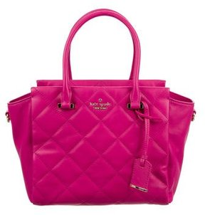 Kate Spade Small Hayden Emerson Place Satchel - PINK - STYLE