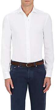 Barba Men's Piqué Cotton Shirt