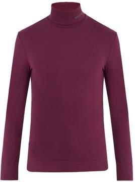 Calvin Klein Roll-neck cotton-jersey sweater