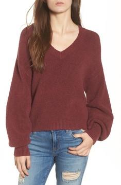 BP Women's Balloon Sleeve Sweater