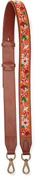 Polo Ralph Lauren Floral Leather Strap
