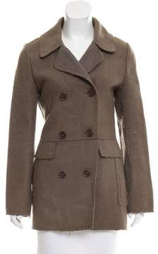 Cacharel Wool Double-Breasted Jacket