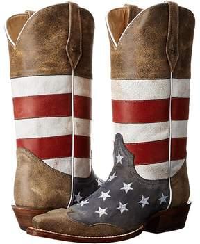 Roper American Flag Snip Toe Cowboy Boots
